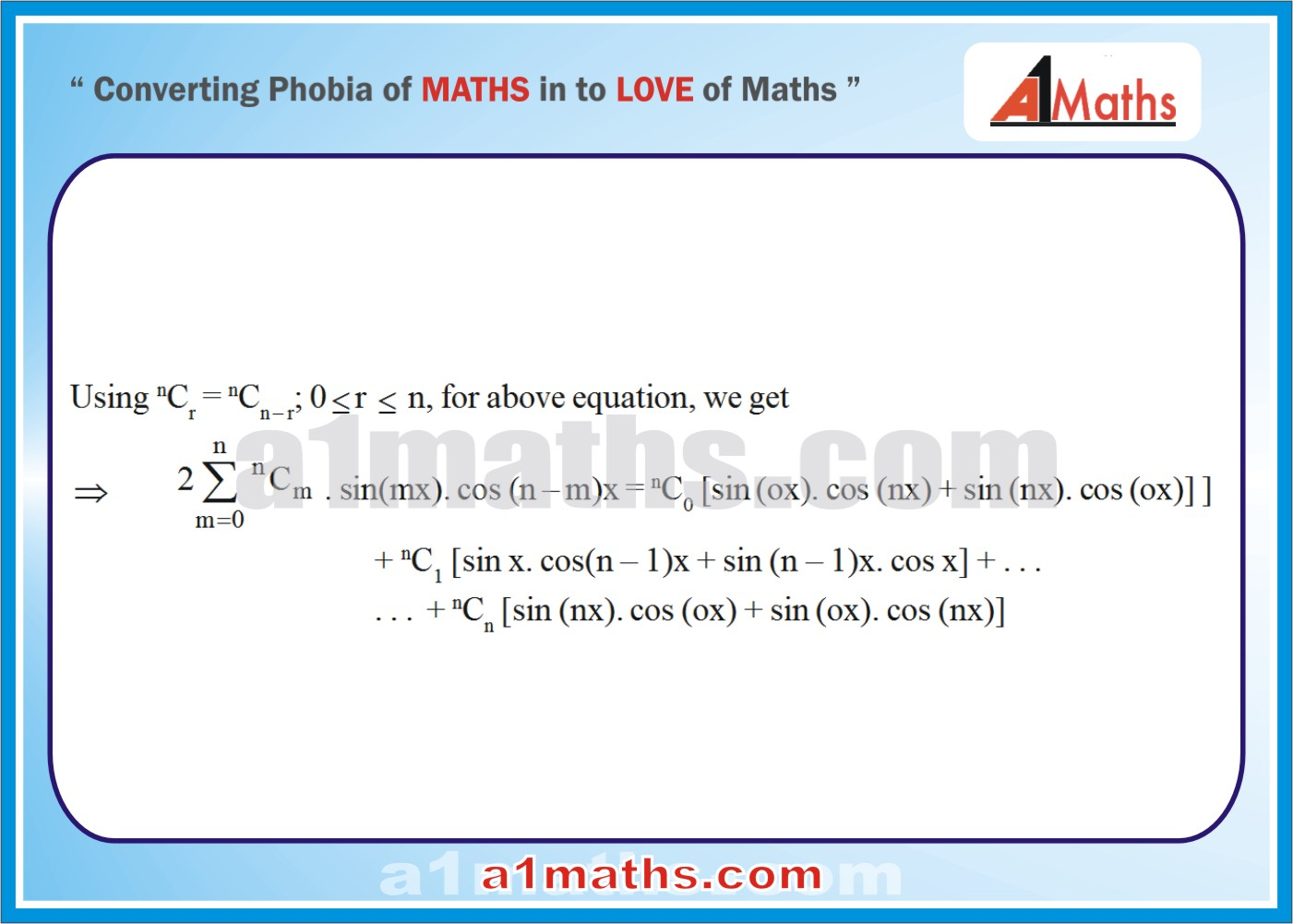 Solved Examples-5-2- Algebra-2-Binomial Theorem-IIT-JEE Maths-Mains-Advanced-Free Study Material