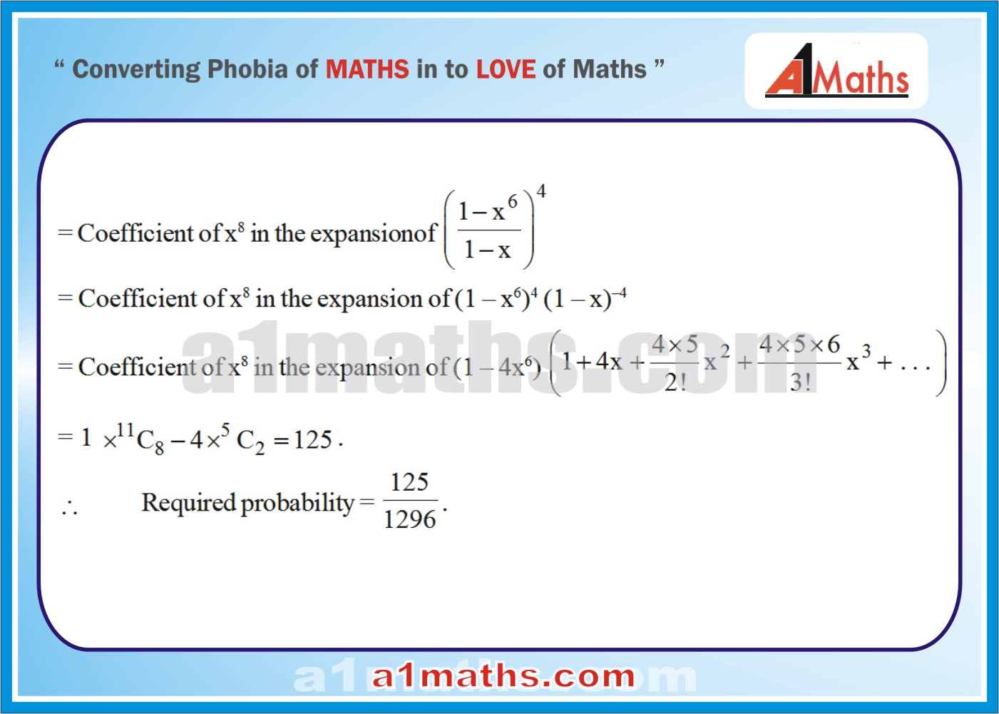 Solved Examples-5-2- Algebra-2-Probability-IIT-JEE Maths-Mains-Advanced-Free Study Material-