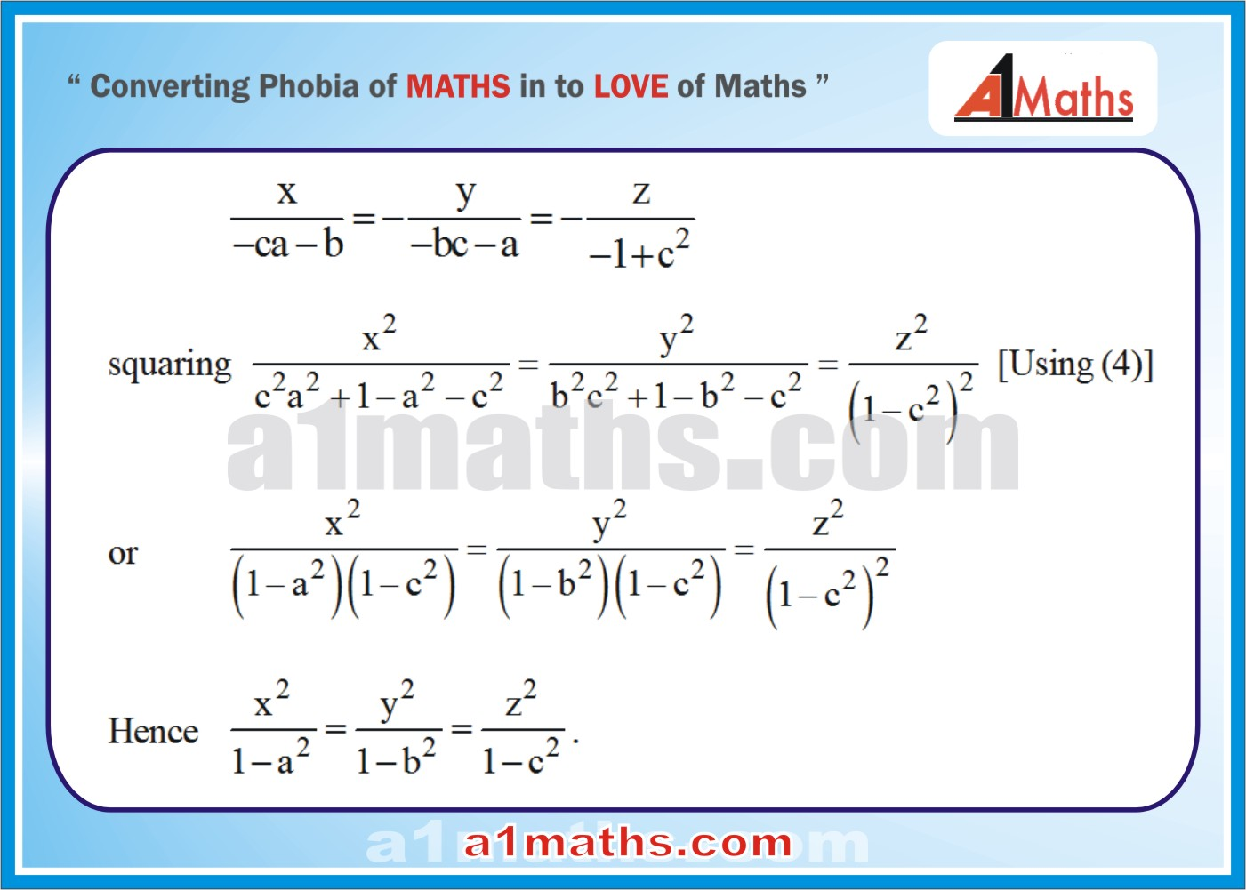 Solved Examples-5-3- Algebra-1-Matrices & Determinants-IIT-JEE Maths-Mains-Advanced-Free Study Material-