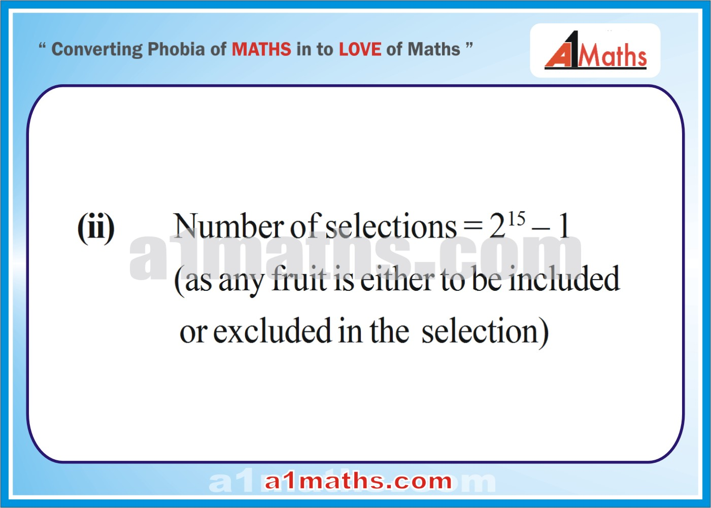 Solved Examples-5-3- Algebra-2-Permutation & Combination-IIT-JEE Maths-Mains-Advanced-Free Study Material-