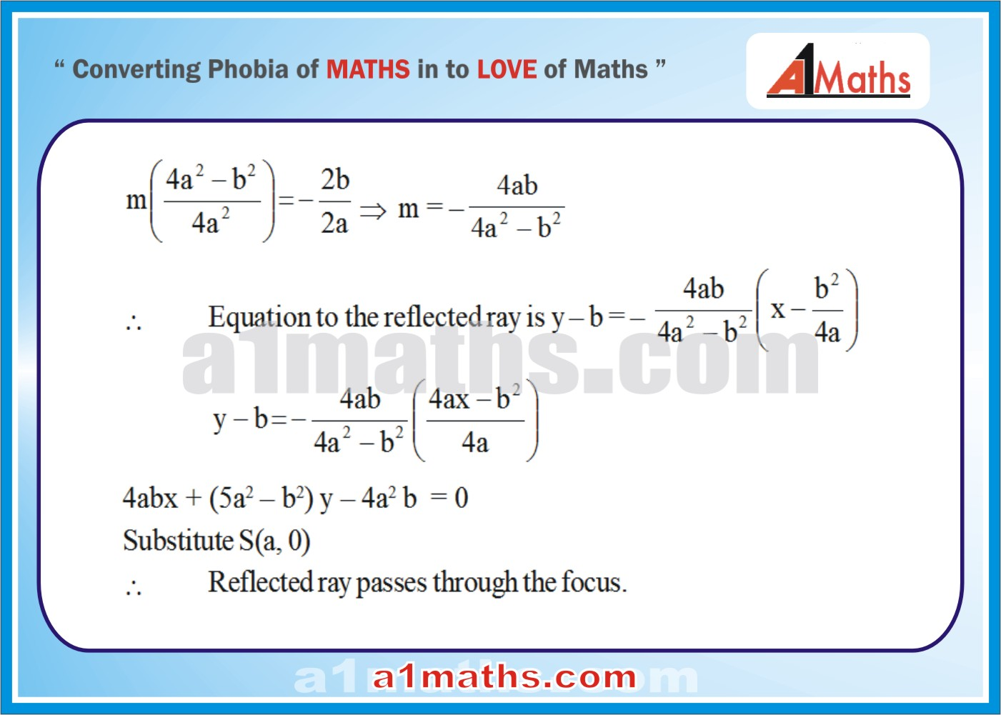 Solved Examples-5-3- Parabola-Coordinate Geometry-IIT-JEE Maths-Mains-Advanced-Free Study Material-