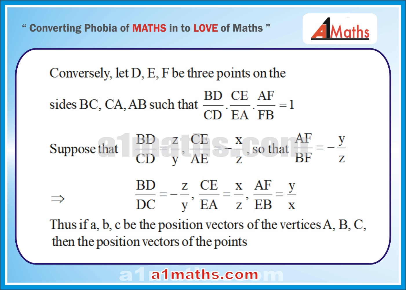 Solved Examples-10-Vectors-Vectors and 3D Geometry -IIT JEE MATHS ...