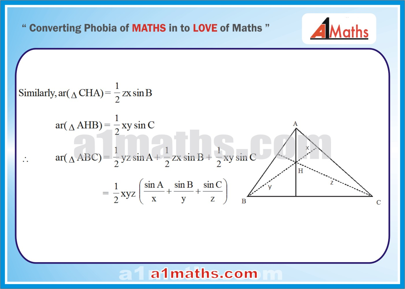 Solved Problems-9-2- Solution of Triangle-Trigonometry-IIT-JEE Maths-Mains-Advanced-Free Study Material-
