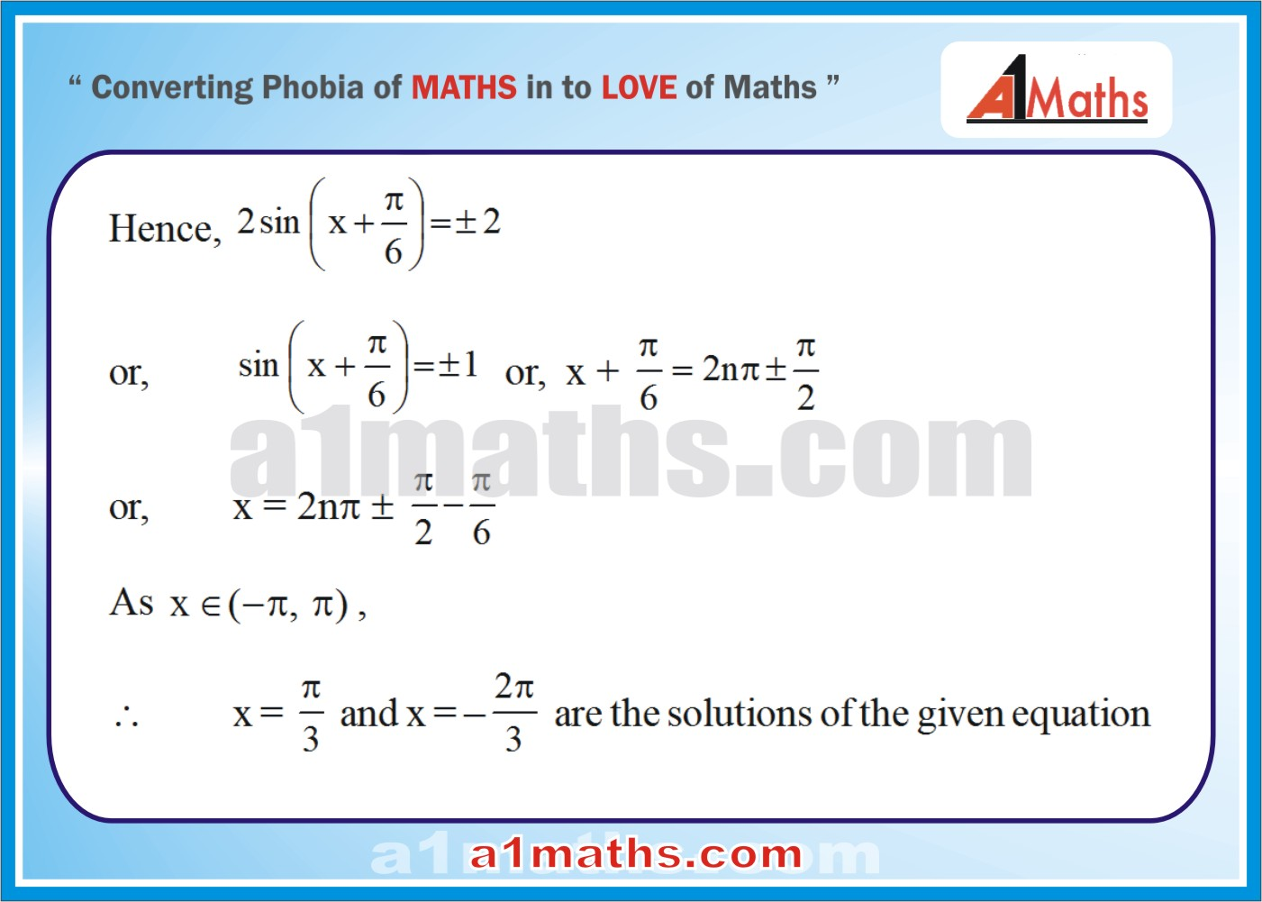 Questions with Solutions-Trigonometric-Equations-Inequalities