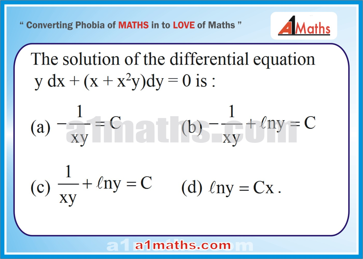 P-Differential Equation-Objective-30-1