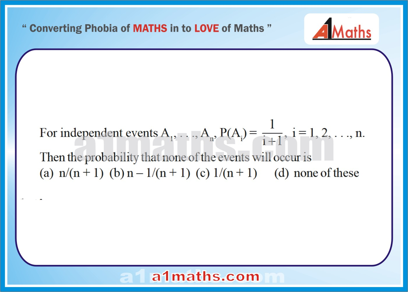 P-Objective -Solved Problems-4-1-Probability-Algebra-2- IIT-JEE