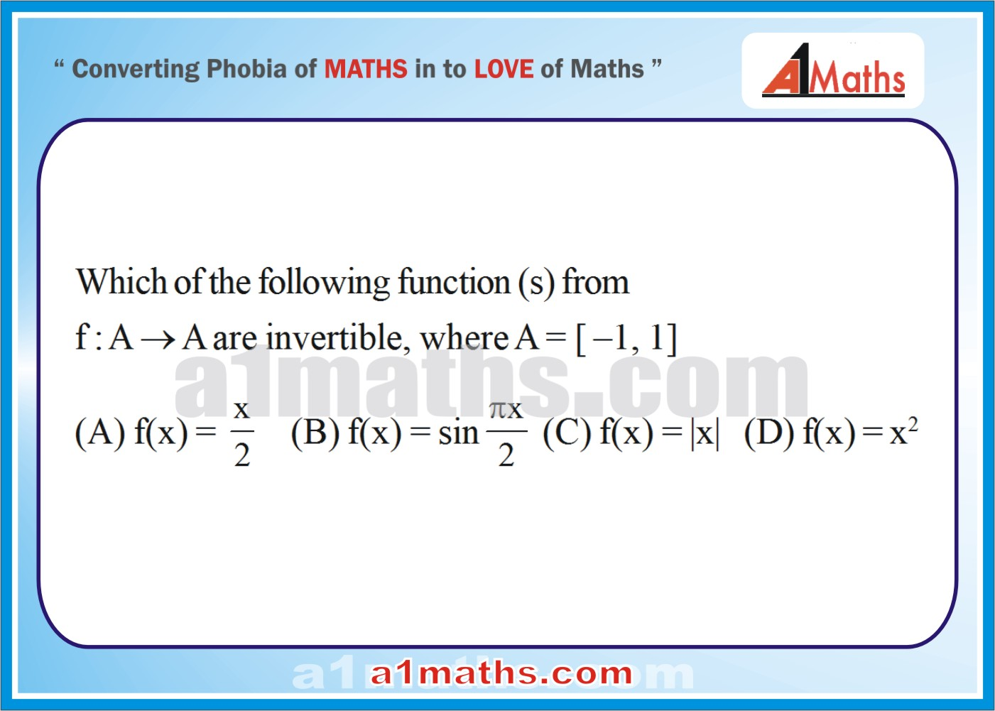 Advancedfree Study Meterial Functions & Relations How To Find The Domain  And Range