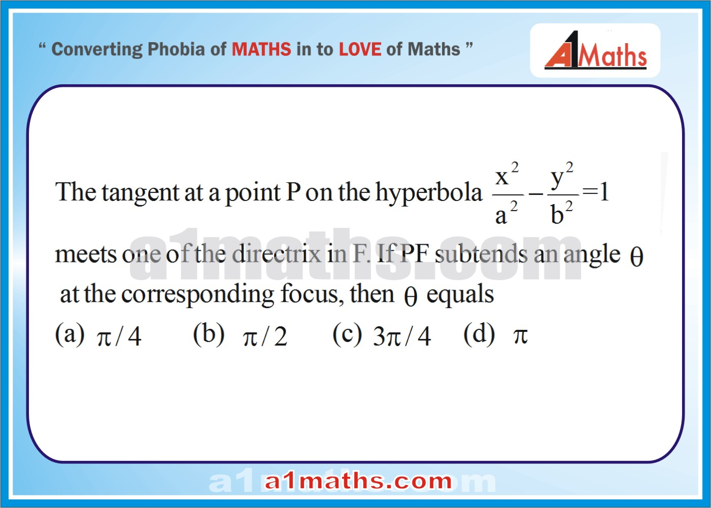 P-Solved-Objective-Problems-3-1-Hyperbola-Coordinate Geometry-IIT-JEE