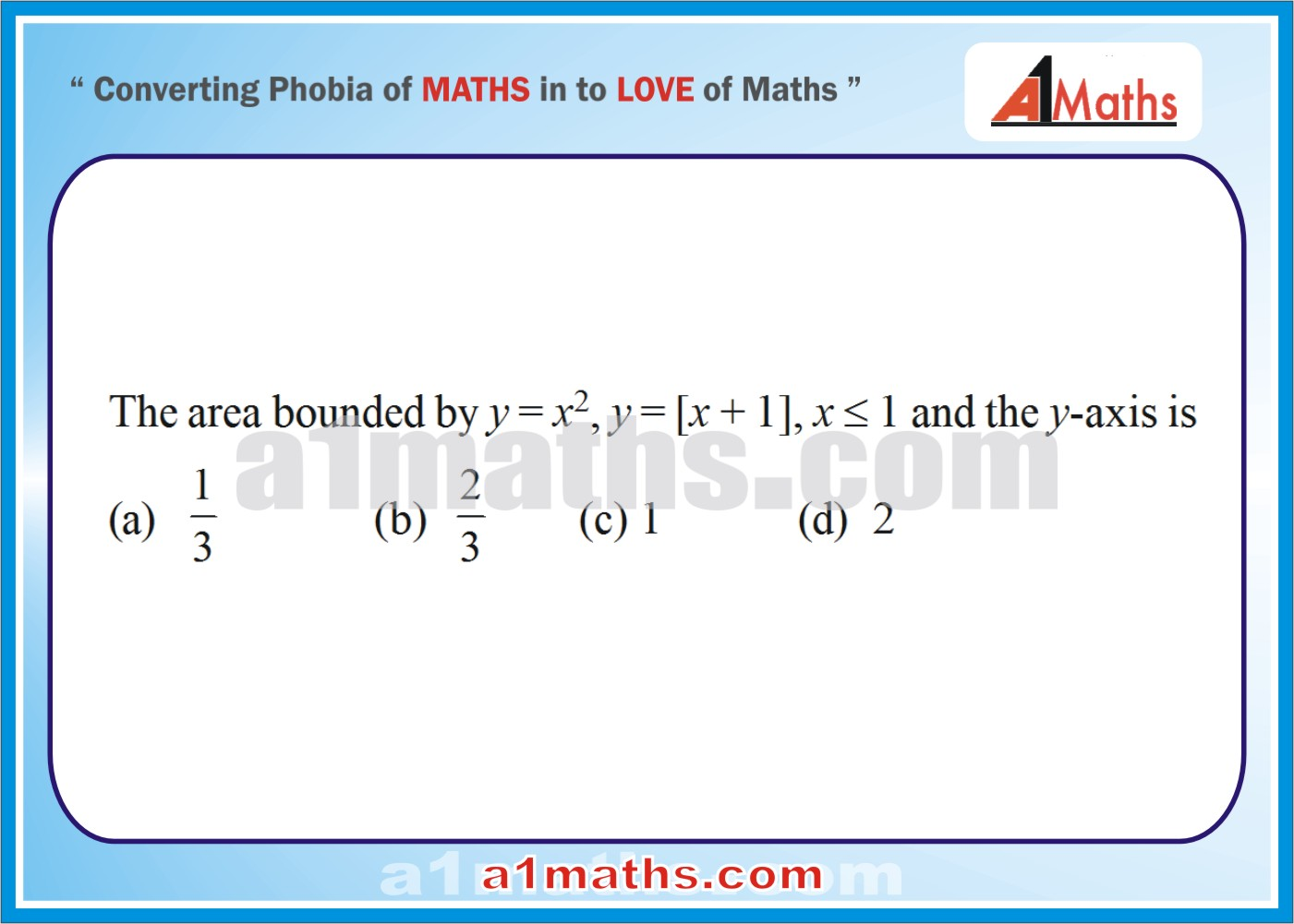 P-Solved Objective-Questions-15-1-Area- Differential Calculus--IIT-JEE