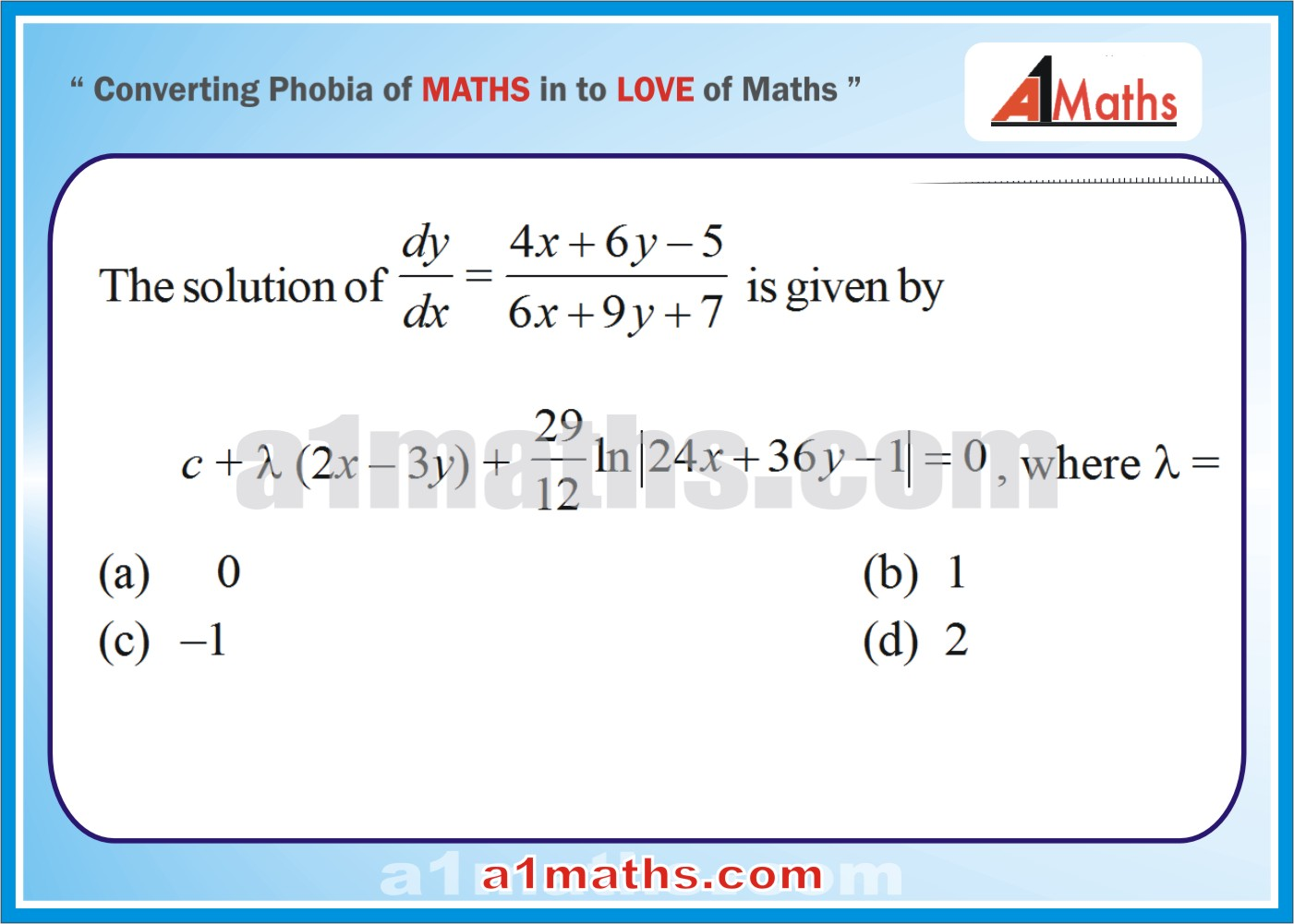 how to find the derivative of an equation