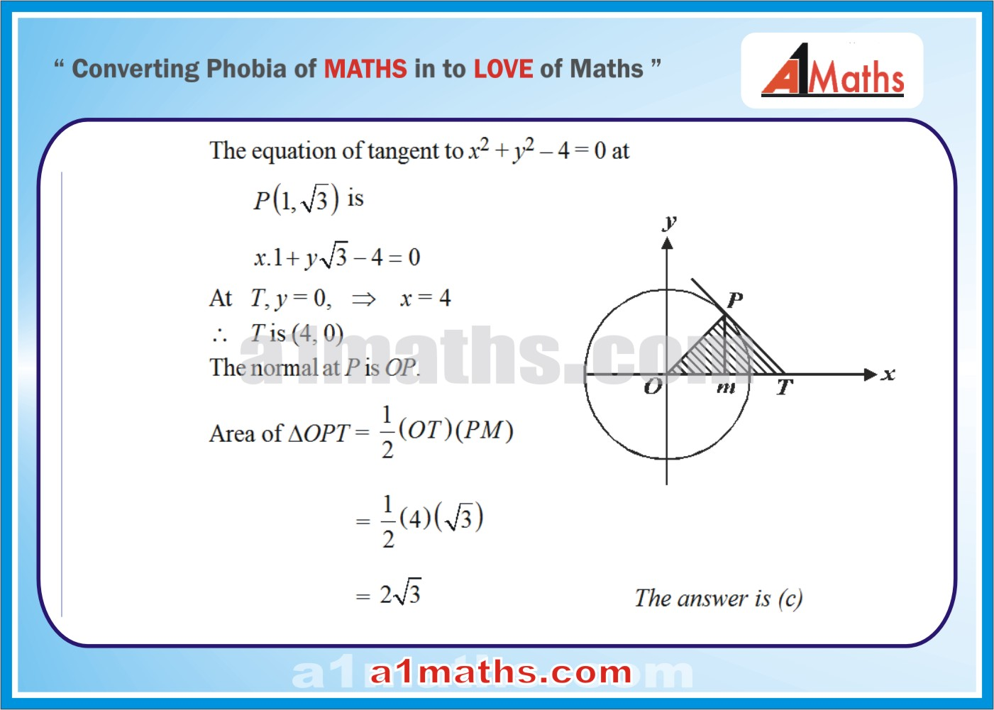 Solved Objective-Questions-17-1-Area- Differential Calculus--IIT-JEE