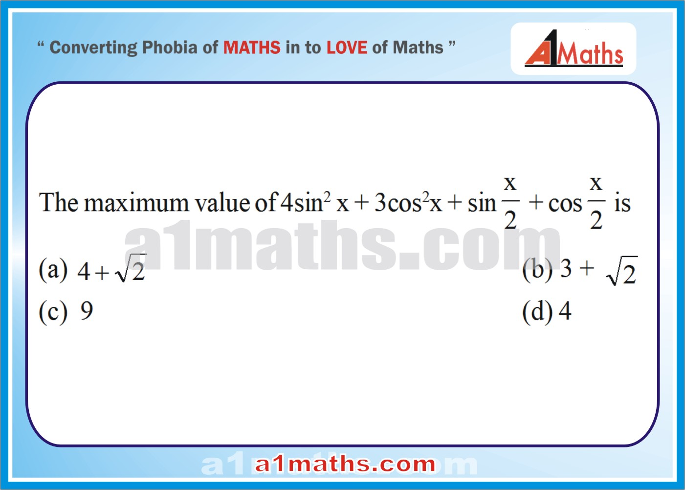 Trigonometry for IIT JEE-Maths-Trigonometric ratios and Identities