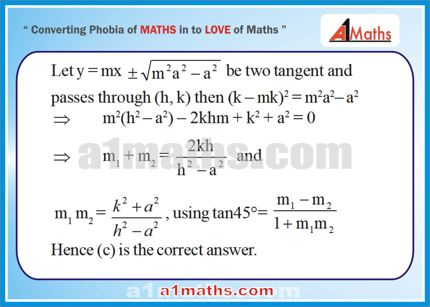 Objective -Solved Examples-10-1- Hyperbola-Coordinate Geometry-IIT-JEE