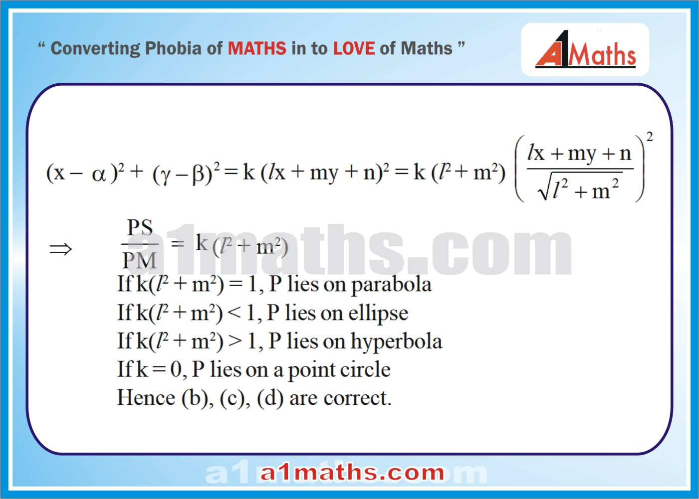 Objective -Solved Examples-8-1- Hyperbola-Coordinate Geometry-IIT-JEE