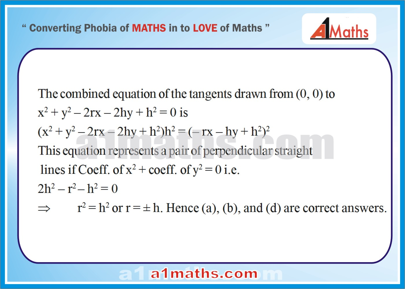 Objective-Solved Problems-13-1-Circle-Coordinate Geometry-IIT-JEE
