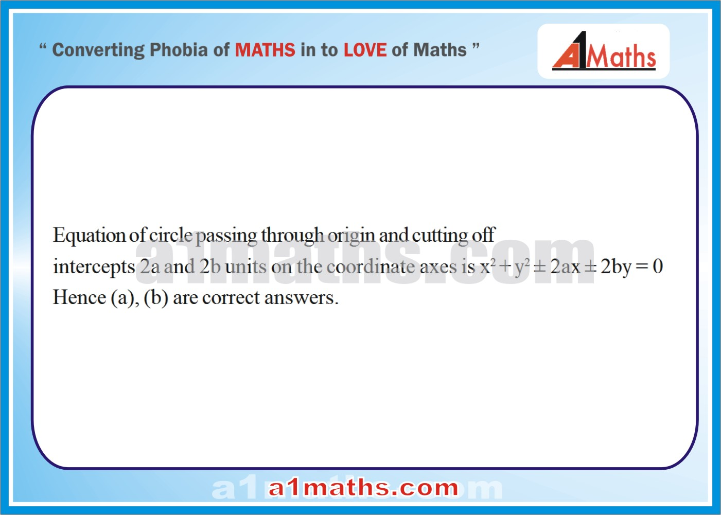 Objective-Solved Problems-14-1-Circle-Coordinate Geometry-IIT-JEE
