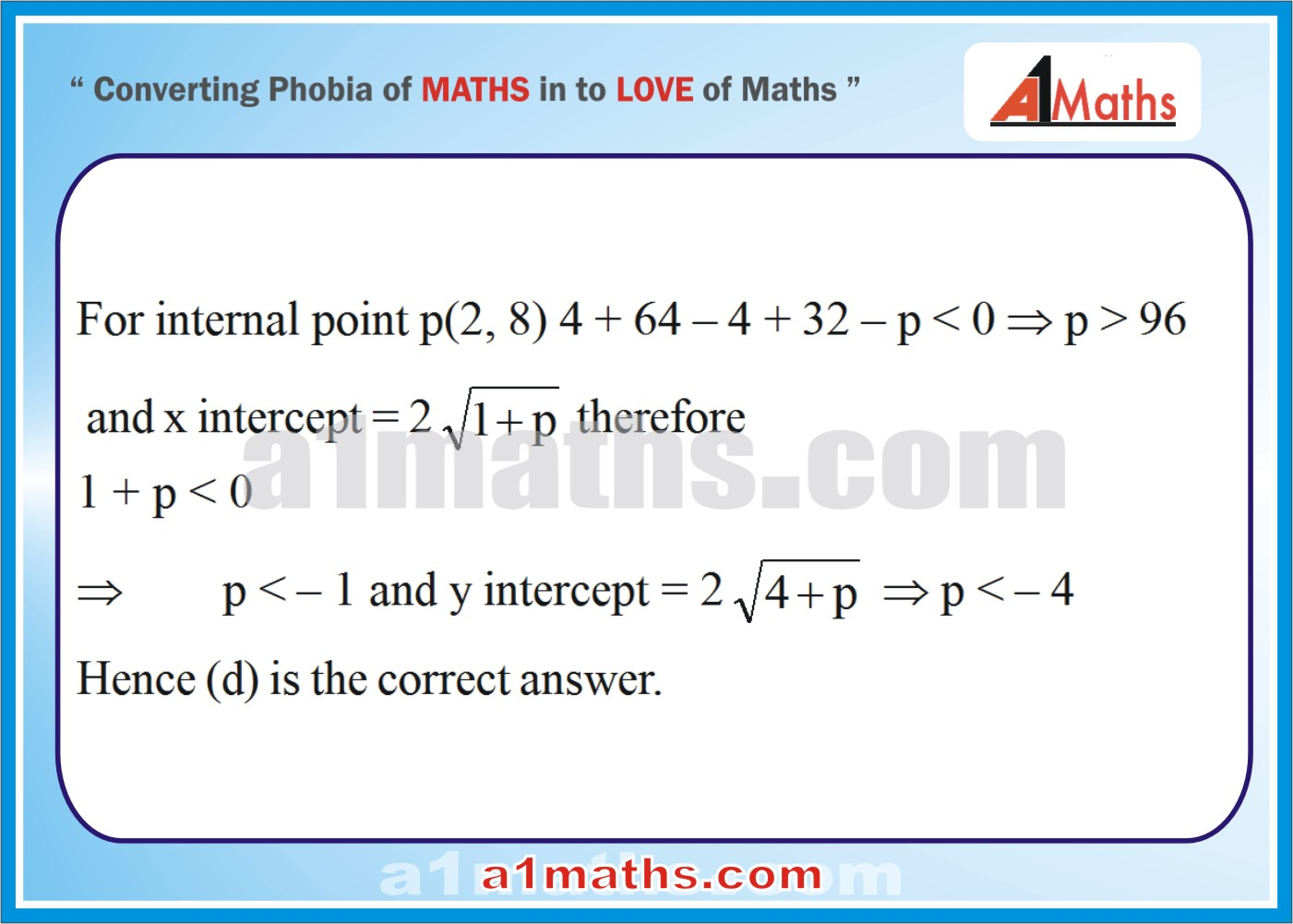 Objective-Solved Problems-9-1-Circle-Coordinate Geometry-IIT-JEE
