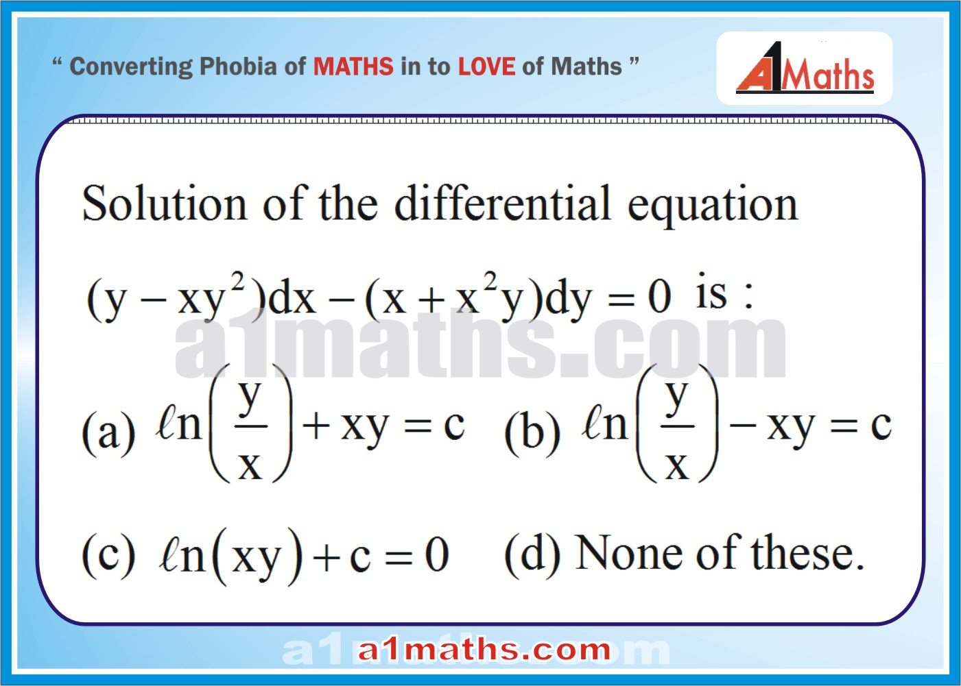 P-Differential Equation-Objective-33-1