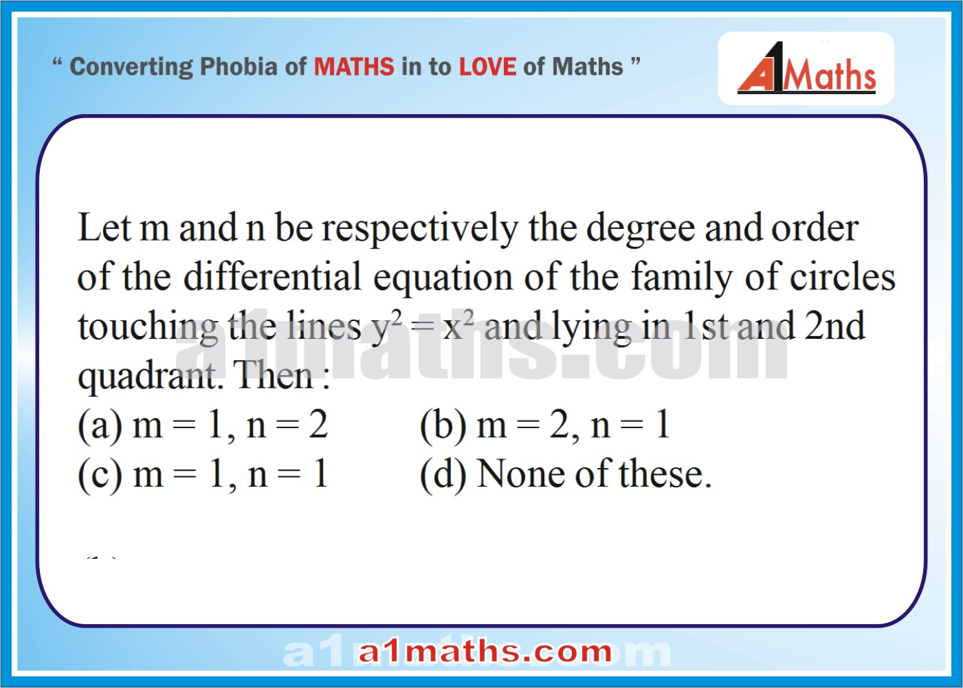 P-Differential Equation-Objective-34-1