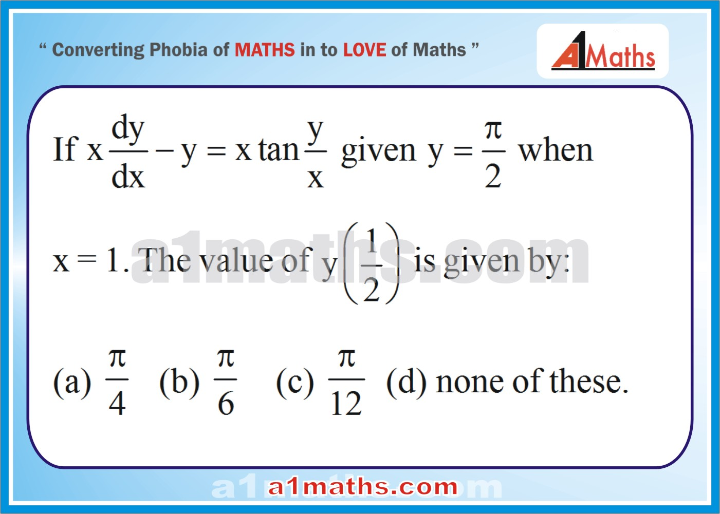 P-Differential Equation-Objective-36-1