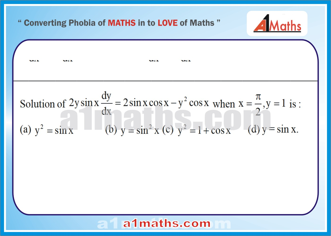 P-Differential Equation-Objective-40-1
