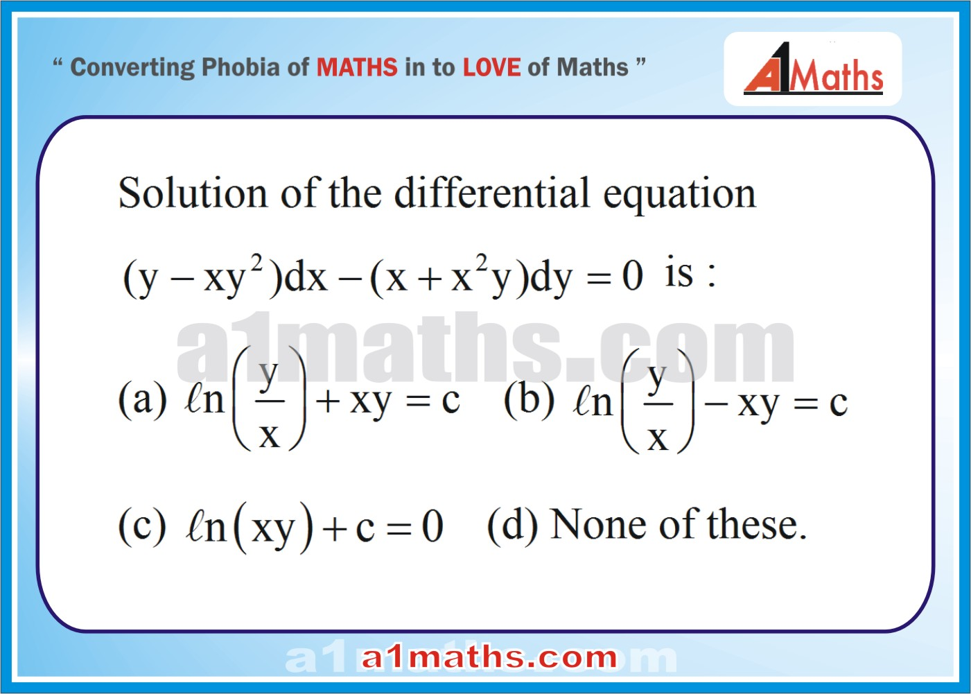P-Differential Equation-Objective-42-1