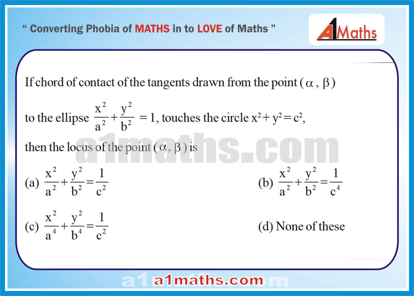 P-Objective-Solved Problems-10-1-Ellipse-Coordinate Geometry-IIT-JEE