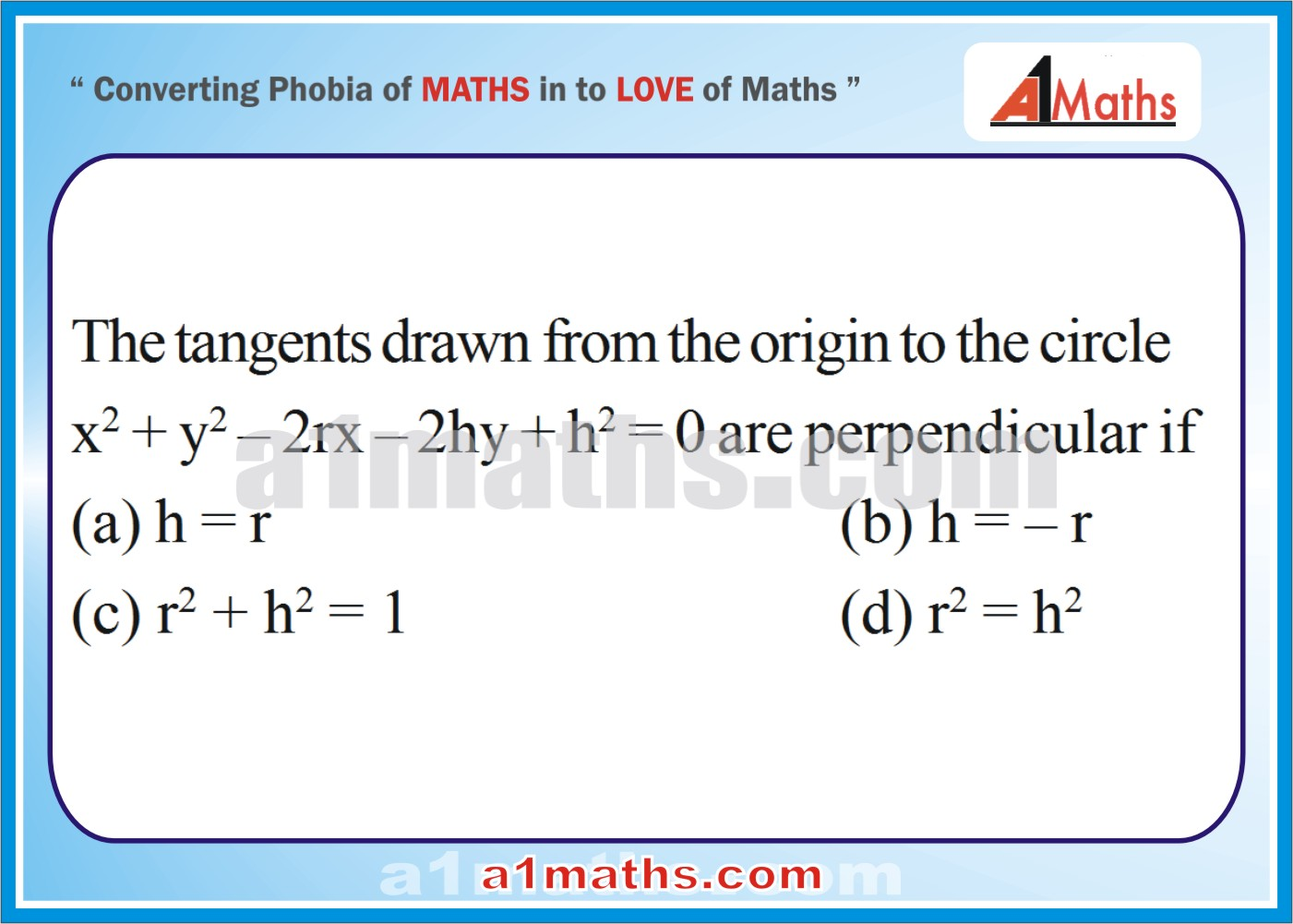 P-Solved-Objective - Problems-13-1-Circle-Coordinate Geometry-IIT-JEE