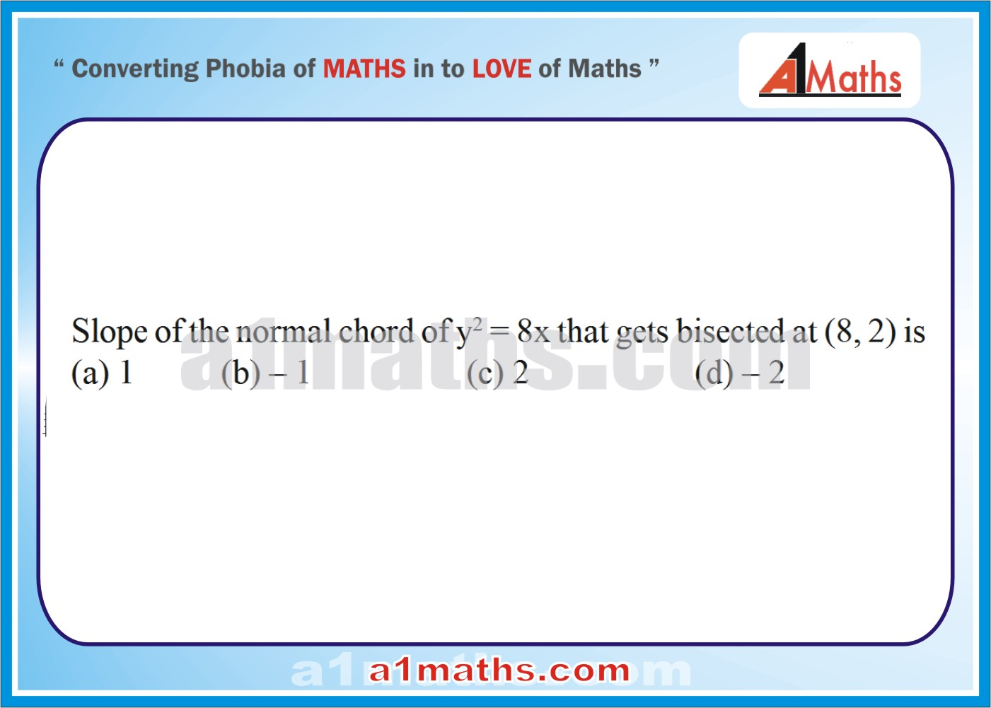 P-Solved-Objective- Problems-13-1-Parabola-Coordinate Geometry-IIT-JEE