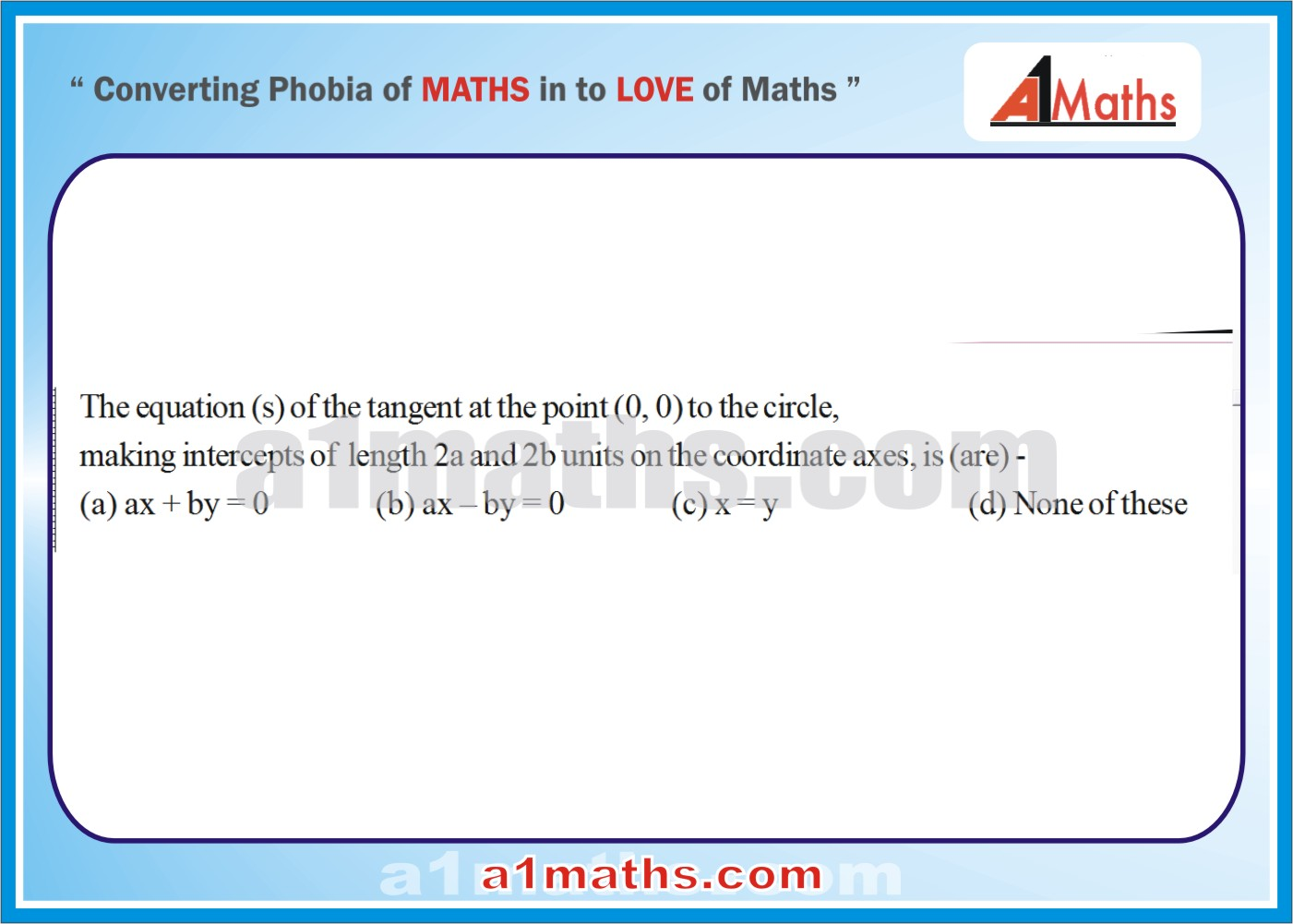 P-Solved-Objective - Problems-14-1-Circle-Coordinate Geometry-IIT-JEE