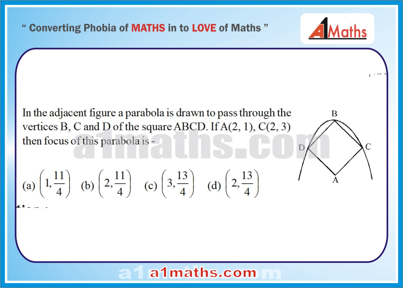 P-Solved-Objective- Problems-15-1-Parabola-Coordinate Geometry-IIT-JEE