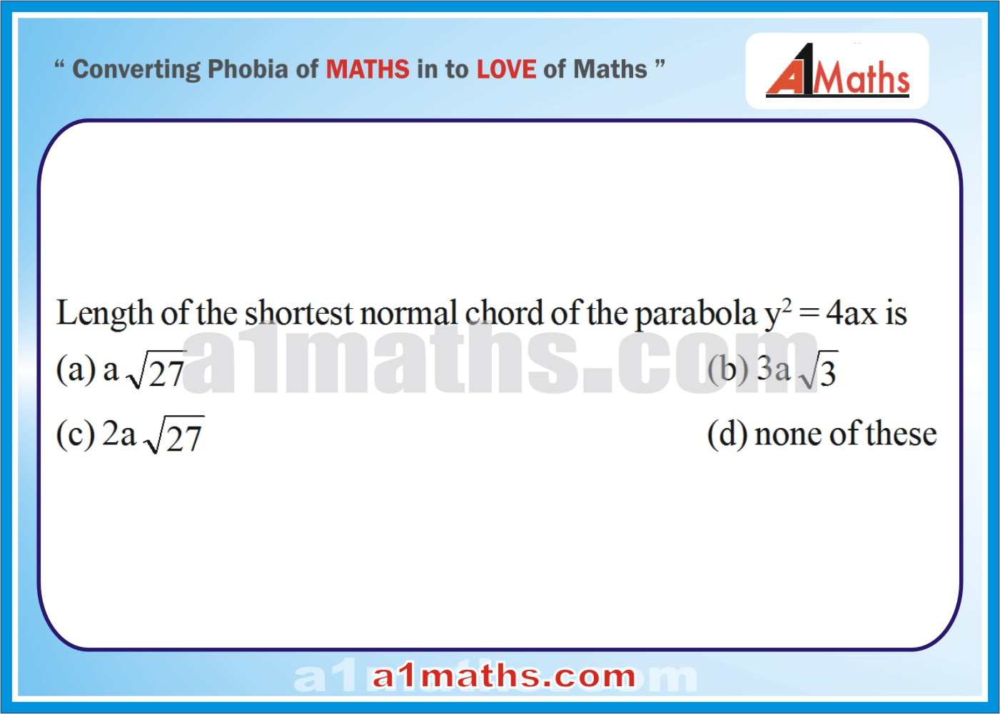 P-Solved-Objective- Problems-9-1-Parabola-Coordinate Geometry-IIT-JEE