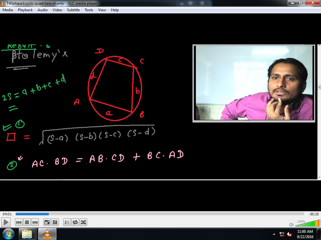 Properties of triangle by KAMAL SIR result -6.1
