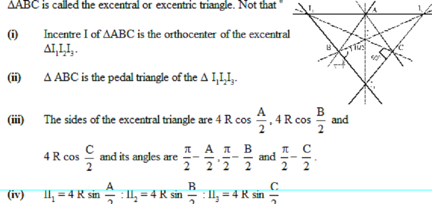 properties of triangles